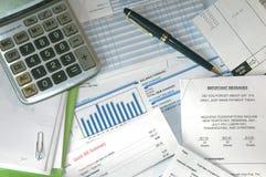 Rechnungen zum zu zahlen Lizenzfreie Stockfotografie