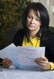 Rechnungen zum zu zahlen Lizenzfreies Stockbild