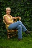 Recht ältere Frau Lizenzfreie Stockbilder