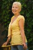 Recht ältere Frau Lizenzfreie Stockfotografie