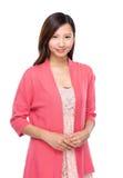 Recht asiatische Frau Stockfotografie