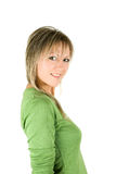 Recht blond Lizenzfreies Stockfoto
