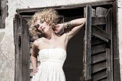 Recht blond Stockfotografie