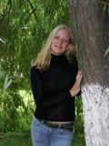 Recht blond Lizenzfreie Stockbilder