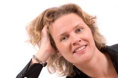 Recht blond Lizenzfreies Stockbild