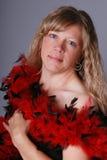 Recht blonde Frau. Lizenzfreies Stockfoto