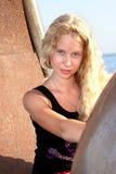 Recht blondes Mädchen Lizenzfreies Stockbild