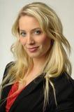 Recht blondes Mädchen Lizenzfreies Stockfoto