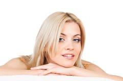 Recht blondes Portrait Lizenzfreie Stockbilder