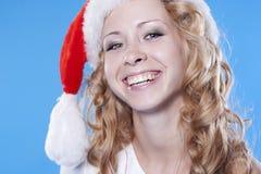 Recht blondes Sankt-Mädchen Lizenzfreie Stockfotografie