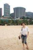 Recht chinesisches Mädchen Stockbild