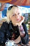 Recht dreißigjährige Frau Lizenzfreies Stockfoto