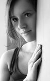 Recht einsames Mädchen Lizenzfreies Stockfoto
