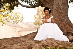 Recht ethnische Braut Lizenzfreies Stockbild