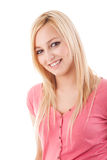 Recht junge Dame Lizenzfreies Stockfoto