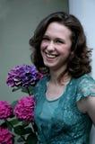 Recht junge Frau #1 Lizenzfreies Stockfoto