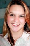 Recht junge Frau lizenzfreies stockfoto
