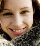 Recht junge Frau Lizenzfreie Stockfotografie