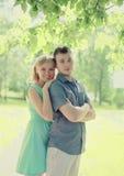 Recht junge Paare Stockfotos
