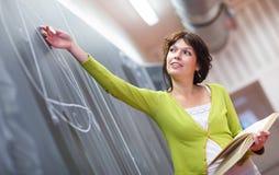 Recht junger Lehrer Lizenzfreies Stockfoto