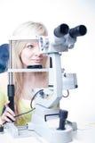 recht junger weiblicher Patient Stockfoto
