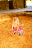 Kleines Mädchen-Fall-Ernte Lizenzfreie Stockbilder