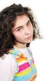 Recht junges Mädchen Stockfotografie