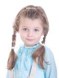 Recht junges Mädchen Lizenzfreies Stockfoto