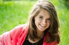 Recht junges Mädchen Stockfotos