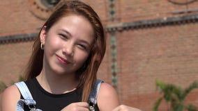 Recht junges Mädchen-Blinzeln Lizenzfreies Stockbild