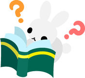 Recht kleine Kaninchen Lizenzfreies Stockbild