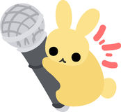 Recht kleine Kaninchen Lizenzfreie Stockfotografie