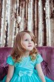 Recht kleines Mädchen Stockfotos