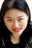 Recht koreanische Frau Stockbild