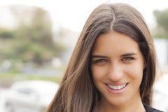 Recht lächeln Stockbilder