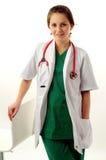 Recht medizinische Frau lizenzfreies stockbild