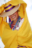 Recht mexikanischer Tänzer Lizenzfreies Stockbild