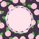 Recht rosa Rosen Stockfotos
