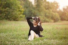 Recht siamesisches Mädchen Lizenzfreie Stockfotos