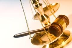Recht und Ordnung Lizenzfreie Stockfotos