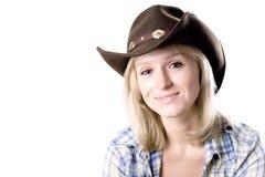 Recht westliche Frau Lizenzfreie Stockbilder