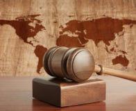 Rechtbank stock afbeelding