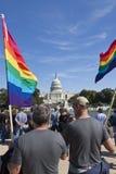 Rechte der Homosexuellen März, 11. Oktober 2009 stockfotografie