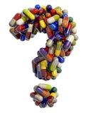 Rechte Droge stock abbildung