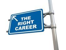Rechte Karriere Stockbilder