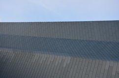 Rechte lijnenarchitectuur Stock Fotografie