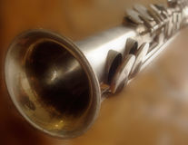 Rechte Saxofoon Royalty-vrije Stock Foto