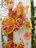 Rechte Seite Chelsea Flower Show 2017 Schöne Betriebs- und Blumenanzeige des großen Pavillons Lizenzfreies Stockbild