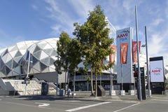 Rechteckiges Stadion Melbournes Stockfotos