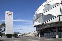 Rechteckiges Stadion Melbournes Stockbilder